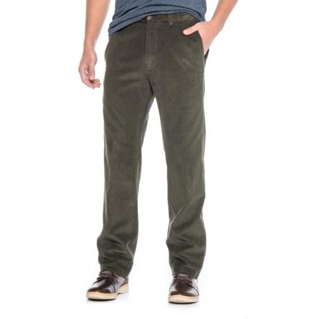 Haggar Work to Weekend Corduroy Pants (For Men) in Mil Green