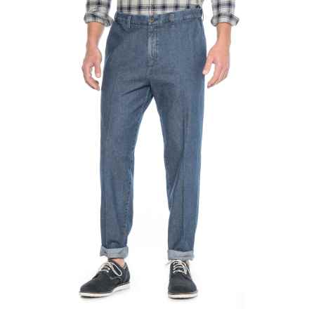Haggar Work to Weekend Jeans - Classic Fit, Flat Front (For Men) in Medium Stonewash - Closeouts
