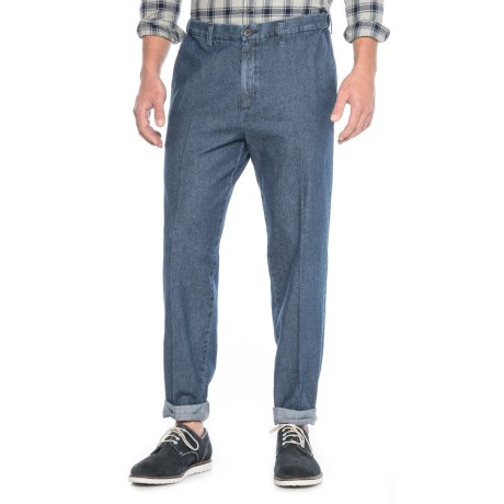 Haggar Work to Weekend Jeans - Classic Fit, Flat Front (For Men) in Medium Stonewash