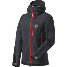 Haglofs Atlas Gore-Tex® Jacket - Waterproof (For Women) in Black - Closeouts