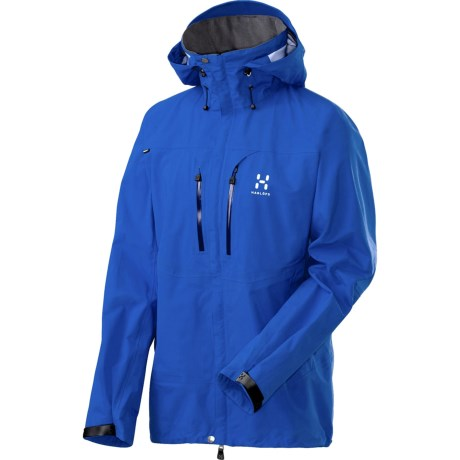 Haglofs Atlas Long Gore-Tex® Jacket - Waterproof (For Men) in Storm Blue