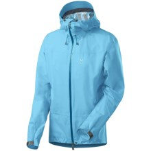 Haglofs Bara Q Jacket - Waterproof (For Women) in Clestial Blue - Closeouts