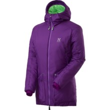 Haglofs Barrier III Q Hooded Parka - Insulated (For Women) in Royal Purple - Closeouts