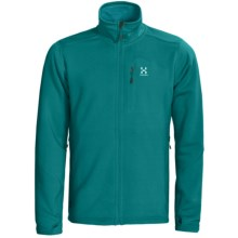 Haglofs Bungy Fleece Jacket - Polartec® Power Stretch® Pro (For Men) in Teal Bllue - Closeouts