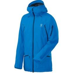 Haglofs Chute Gore-Tex® Ski Jacket - Waterproof (For Men) in Gale Blue