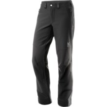 Haglofs Col Q Soft Shell Pants (For Women) in True Black - Closeouts
