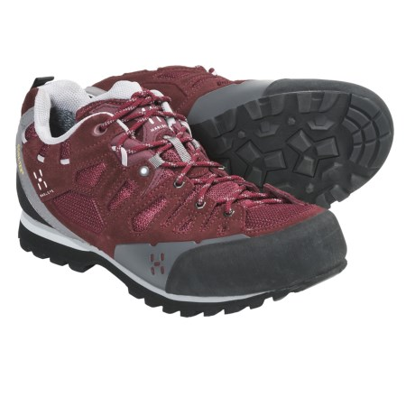 Haglofs Crag Gore-Tex® Approach Shoes - Waterproof, Leather (For Women) in Mellow Red