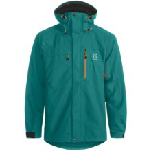 Haglofs Crag Gore-Tex® Jacket - Waterproof (For Men) in Teal Blue/Kolibri - Closeouts