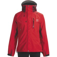 Haglofs Crag Gore-Tex® Jacket - Waterproof (For Women) in Deep Red/Mellow Red - Closeouts