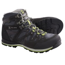 Haglofs Crag Hi Gore-Tex® Boots - Waterproof (For Men) in Graphite/Budgie Green - Closeouts