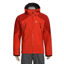 Haglofs Cuda Windstopper® Jacket - Soft Shell (For Men) in Fire/Deep Red - Closeouts