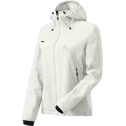 Haglofs Cyclone Q Fleece Jacket - Windstopper® (For Women) in Soft White - Closeouts