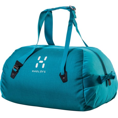 Haglofs Dome 40 Duffel Bag in Peacock/Bluebird