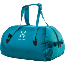 Haglofs Dome 70 Duffel Bag in Peacock/Bluebird