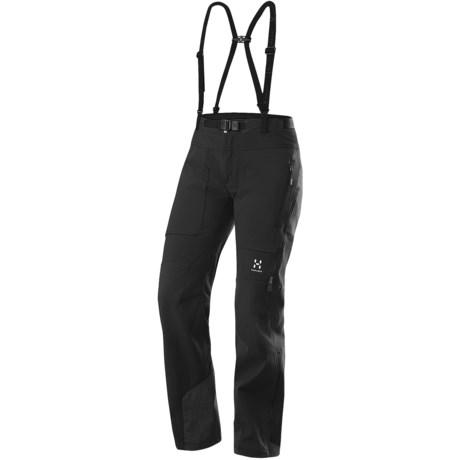 Haglofs Eryx Windstopper® Soft Shell Pants (For Women) in Black