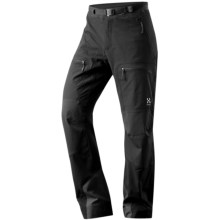 Haglofs Flint Pants - Soft Shell (For Men) in Black - Closeouts