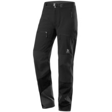 Haglofs Flint Q Pants - Soft Shell (For Women) in Black - Closeouts