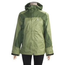 Haglofs Foss Jacket (For Women) in Salvia/Aloe Vera - Closeouts