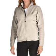 Haglofs Frost II Q Jacket - Polartec® Thermal Pro® Fleece (For Women) in Ivory - Closeouts