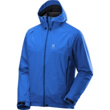 Haglofs Glide Windstopper® Active Shell Jacket - Lightweight (For Men) in Gale Blue/Storm Blue - Closeouts