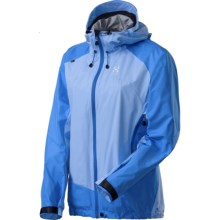 Haglofs Glide Windstopper® Shell Jacket (For Women) in Mist Blue/Aero Blue - Closeouts