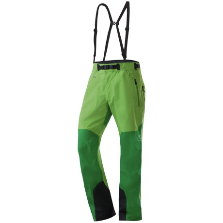Haglofs Guard Gore-Tex® Pro Shell Snowsport Pants - Waterproof (For Men) in Oxide Green/Emerald