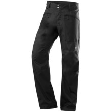 Haglofs Incus Pants - Waterproof, Recycled Materials (For Men) in Black - Closeouts