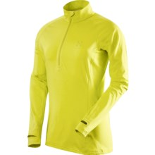 Haglofs Intense Shirt - Zip Neck, Long Sleeve (For Women) in Firefly - Closeouts