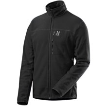 Haglofs Isogon Polartec® Thermal Pro® Fleece Jacket (For Men) in Black - Closeouts