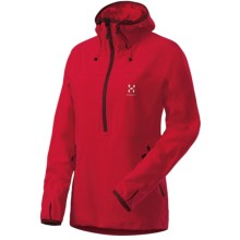 Haglofs Krait Soft Shell Jacket - Zip Neck (For Women) in Crimson - Closeouts