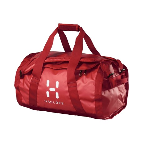 Haglofs Lava 50 Duffel Bag in Fire/Deep Red