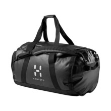Haglofs Lava 90 Duffel Bag in Black - Closeouts