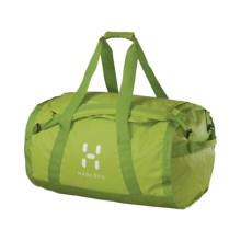 Haglofs Lava 90 Duffel Bag in Glow Green/Lime Green - Closeouts
