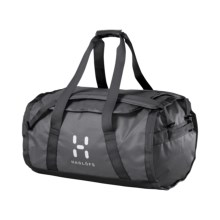 Haglofs Lava 90 Duffel Bag in Pewter/Dark Pewter - Closeouts