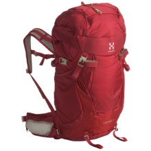 Haglofs Lethe Q35 Backpack - Internal Frame (For Women) in Deep Red - Closeouts