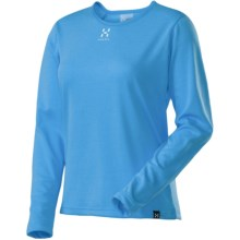 Haglofs Lightweight Return T-Shirt - UPF 40+, Recycled Materials, Long Sleeve (For Women) in Celestial Blue - Closeouts