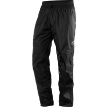 Haglofs Lim Pull Gore-Tex® Pants - Waterproof (For Men) in True Black - Closeouts