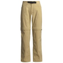 Haglofs Lite Trek Split Convertible Pants - UPF 40+ (For Women) in Calize Beige - Closeouts