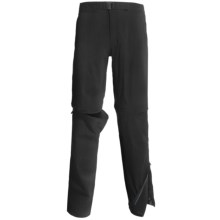 Haglofs Lite Trek Split Pants - UPF 40+ (For Men) in Black - Closeouts
