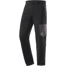 Haglofs Lizard Pants - Soft Shell (For Men) in Black - Closeouts