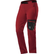 Haglofs Lizard Q Pants - Soft Shell (For Women) in Deep Red - Closeouts