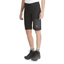 Haglofs Lizard Q Shorts - Soft Shell (For Women) in Black - Closeouts