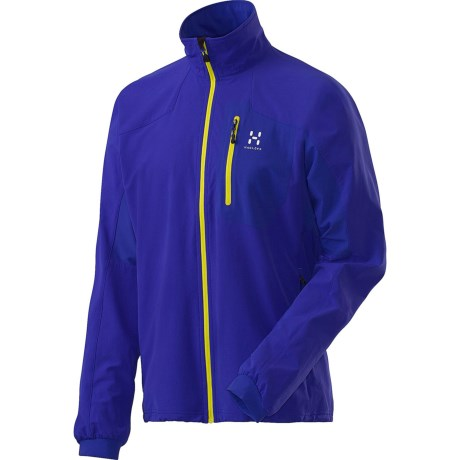 Haglofs Lizard  Soft Shell Jacket (For Men) in Noble Blue