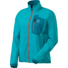 Haglofs Lizard  Soft Shell Jacket (For Women) in Bluebird - Closeouts