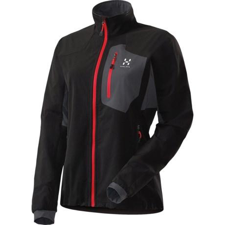 Haglofs Lizard  Soft Shell Jacket (For Women) in True Black