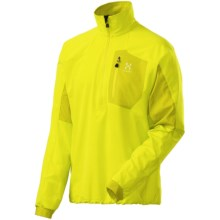 Haglofs Lizard Soft Shell Jacket - Pullover (For Men) in Firefly - Closeouts