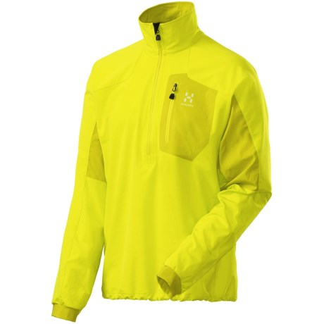 Haglofs Lizard Soft Shell Jacket - Pullover (For Men) in Firefly