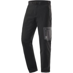 Haglofs Lizard Soft Shell Pants (For Men) in Deep Red