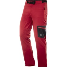 Haglofs Lizard Soft Shell Pants (For Men) in Deep Red - Closeouts