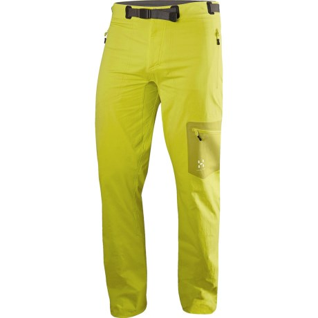 Haglofs Lizard Soft Shell Pants (For Men) in Firefly